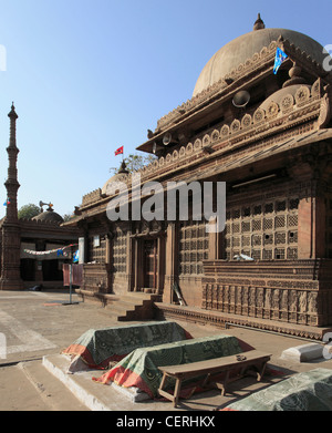 India, Gujarat, Ahmedabad, Rani Sipri's Mosque, Masjid-e-Nagira, - Stock Photo