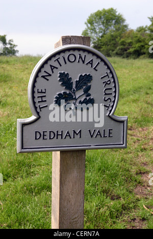 Dedham Vale is a designated Area of Outstanding Natural Beauty - Stock Photo