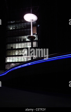 South Bank By Lamp Light Thames Embankment London Path Evening Walk Stock Photo 33890738 Alamy