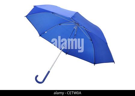 Blue Umbrella - Stock Photo