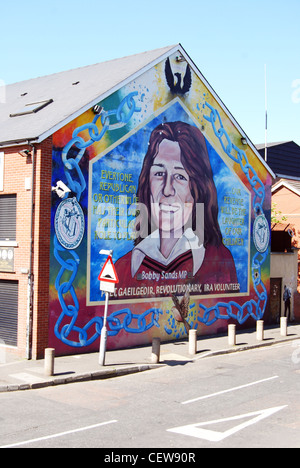 Bobby sands mural stock photo royalty free image for Bobby sands mural