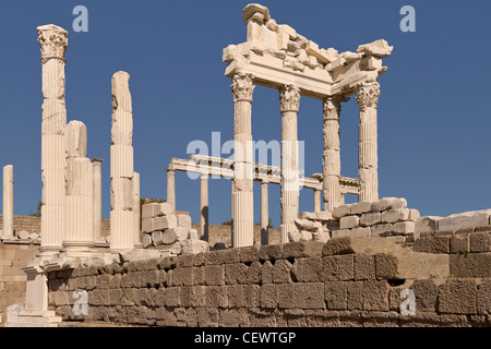 Turkey Ancient City OF Pergamon - Stock Photo