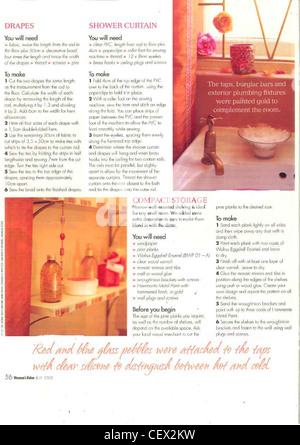 ... REAL HOMES: FORPeaceful Oasis Bathroom Makeover Small Bathroom  Terracotta Tiles Halfway Up The Beige Wall