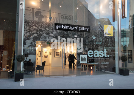The Getty Images gallery in the Westfield Stratford City shopping centre in Stratford, UK. - Stock Photo