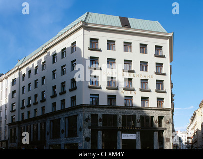 Austria. Vienna. Loos Haus. 1910-1912. By Adolf Loos (1870-1933). - Stock Photo