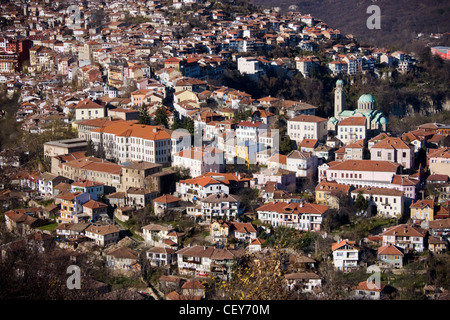 The town of Veliko Tarnovo, Bulgaria - Stock Photo