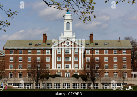 Moors Hall, part of both Cabot and Pforzheimer Houses of Harvard College, at the Radcliffe Quadrangle in Cambridge, - Stock Photo