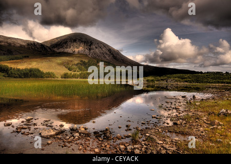 Road to Elgol, Isle of Skye, Scotland - Stock Photo