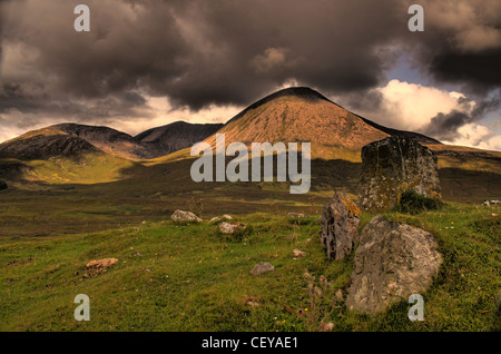 Road to Elgol, Isle of Skye, Scotland Landscape - Stock Photo