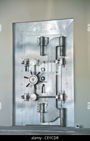 safe secure security vault bank - Stock Photo