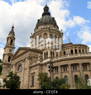 Saint Stephen Cathedral, Budapest, Hungary - Stock Photo