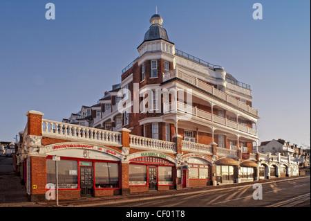 Interesting Victorian building in Shorefield Avenue, Southend-on-Sea, Essex - Stock Photo