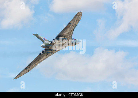 Avro Vulcan XH558 - The Spirit of Great Britain - at RIAT 2010, Fairford. - Stock Photo
