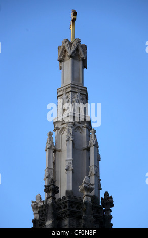 Detail of Ilam Cross - Stock Photo