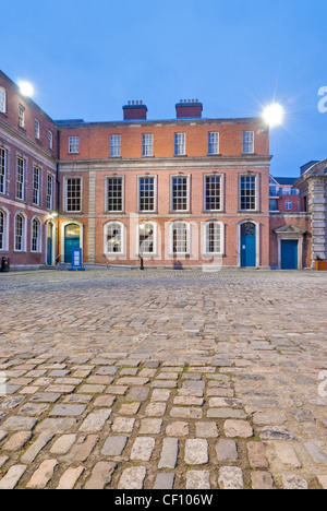 The state apartments of Dublin Castle - Stock Photo