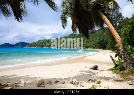 Takamaka Bay, South Mahe, Seychelles - Stock Photo