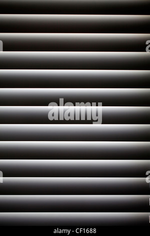 CLOSED VENETIAN WINDOW BLIND - Stock Photo