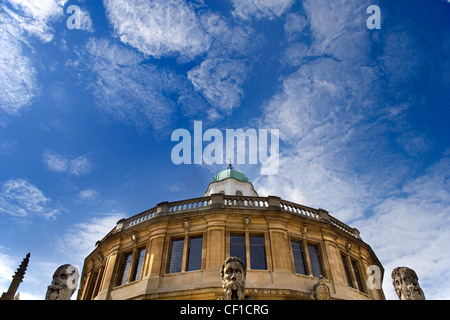An exterior view of the Sheldonian Theatre in Oxford. - Stock Photo
