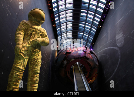 Entrance to the Science Museum in Kensington, London 2 - Stock Photo