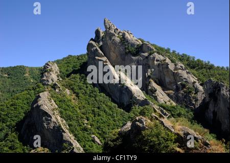 italy, basilicata, dolomiti lucane regional park - Stock Photo