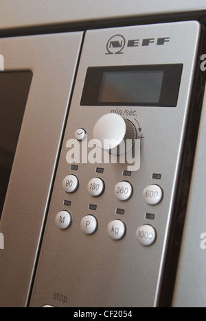 Neff microwave oven control panel - Stock Photo