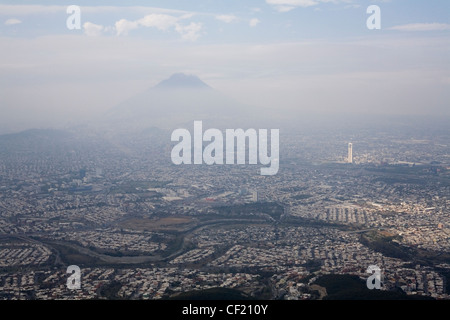 The city of Monterrey in Nuevo Leon, Mexico. - Stock Photo
