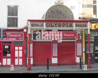 the olympia theatre on dame street in dublin ireland - Stock Photo