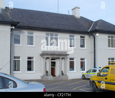 Navan Garda Station, County Meath, Ireland - Stock Photo