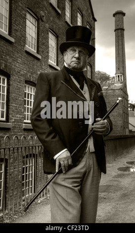 The Victorian industrial mill Owner, Styal , close to Manchester, Cheshire, England, United Kingdom - Stock Photo