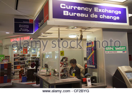 currency exchange booth in international airport stock photo royalty free image 40221921 alamy. Black Bedroom Furniture Sets. Home Design Ideas