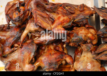 Cooked Fish Market Cambodia Siem Reap Cambodia Asia - Stock Photo
