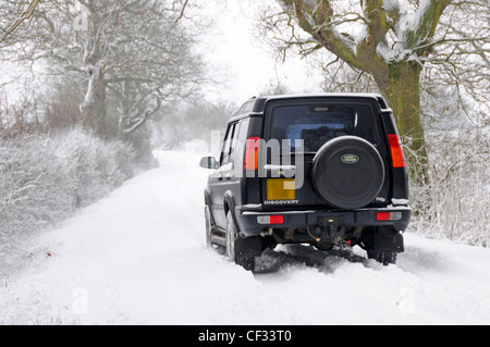 Rear View Of A Land Rover Discovery X Car Stock Photo Royalty - Land rover discovery dealer