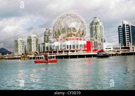 vancouver downtown city scenic landmark . marina science center. - Stock Photo