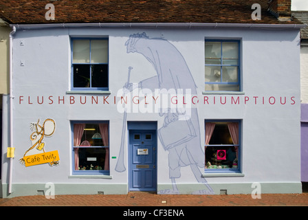 Facade of the Roald Dahl Museum and Story Centre at Great Missenden. - Stock Photo