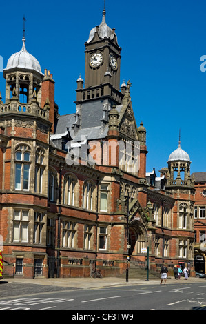 York Magistrates' Court, an imposing Victorian building in Clifford Street built in 1891. - Stock Photo