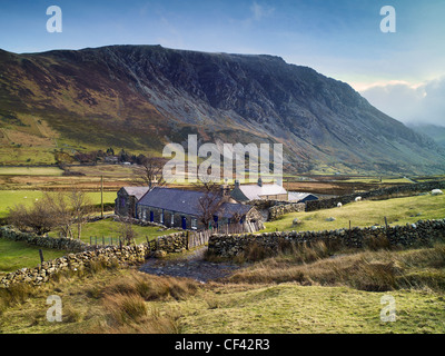 A remote farmhouse in the valley of Nant Francon in the heart of Snowdonia.