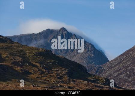 Bristly Ridge, Snowdonia, North Wales - Stock Photo