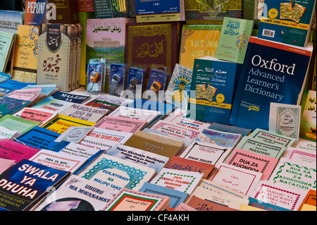 Books for sale in Stone Town Zanzibar Tanzania - Stock Photo