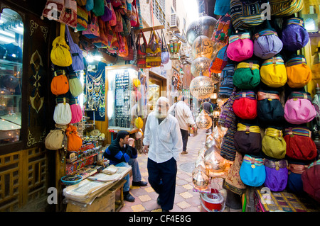 Khan El Khalili market Cairo Egypt - Stock Photo