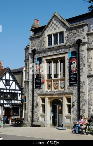 Winchester City Museum in the centre of the city. - Stock Photo