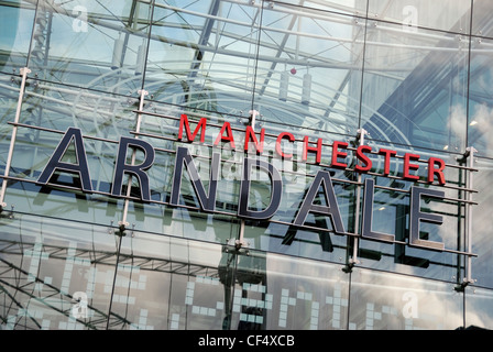 Manchester Arndale, the UK's largest inner-city shopping centre, located in the heart of Manchester City Centre. - Stock Photo