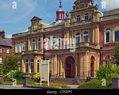 Penrith Town Hall, home of Eden District Council. The building is believed to have been designed by Robert Adam. - Stock Photo