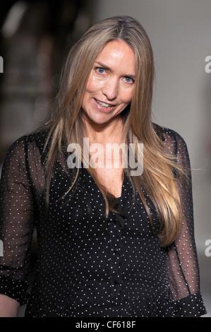 Collette Dinnigan Paris Ready to Wear Spring Summer 2011 Fashion designer Collette Dinnigan - Stock Photo