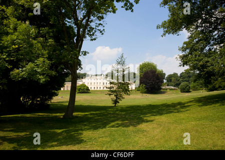 Kenwood House also known as the Iveagh Bequest, a 17th century former stately home set in tranquil parkland by Hampstead - Stock Photo
