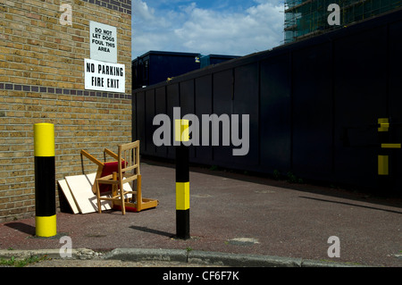 Fly Tipping - Stock Photo