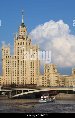 Kotelnicheskaya Embankment Building is one of seven stalinist skyscrapers