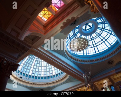 Details of Royal Exchange Theatre, Manchester - Stock Photo