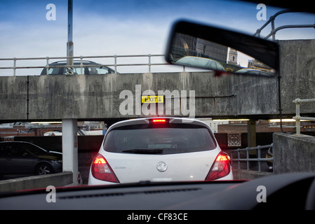 Underground Car Park And Traffic Lights Terminal 2