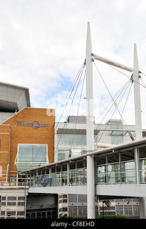 West Quay shopping Centre Southampton - Stock Photo