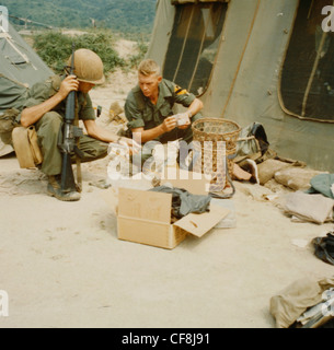 Operation 'Crazy Horse', a search and destroy mission conducted by elements of the 1st Cav Div (Airmobile), began - Stock Photo